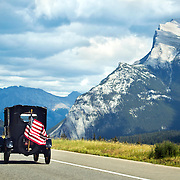 American Road Tripper in Canada.