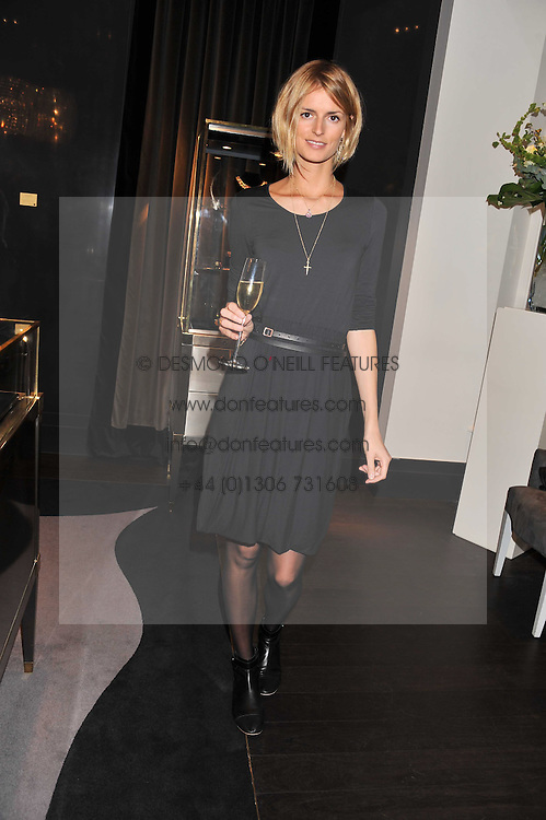 JACQUETTA WHEELER at a private view of jewellery and photographs by Rosie Emerson and Annoushka Ducas entitled Alchemy in association with Ruinart Champagne held at Annoushka, 41 Cadogan gardens, London SW3 on 15th September 2011.