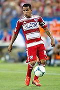 FRISCO, TX - JUNE 26:  David Ferreira #10 of FC Dallas controls the ball against the Portland Timbers on June 26, 2013 at FC Dallas Stadium in Frisco, Texas.  (Photo by Cooper Neill/Getty Images) *** Local Caption *** David Ferreira
