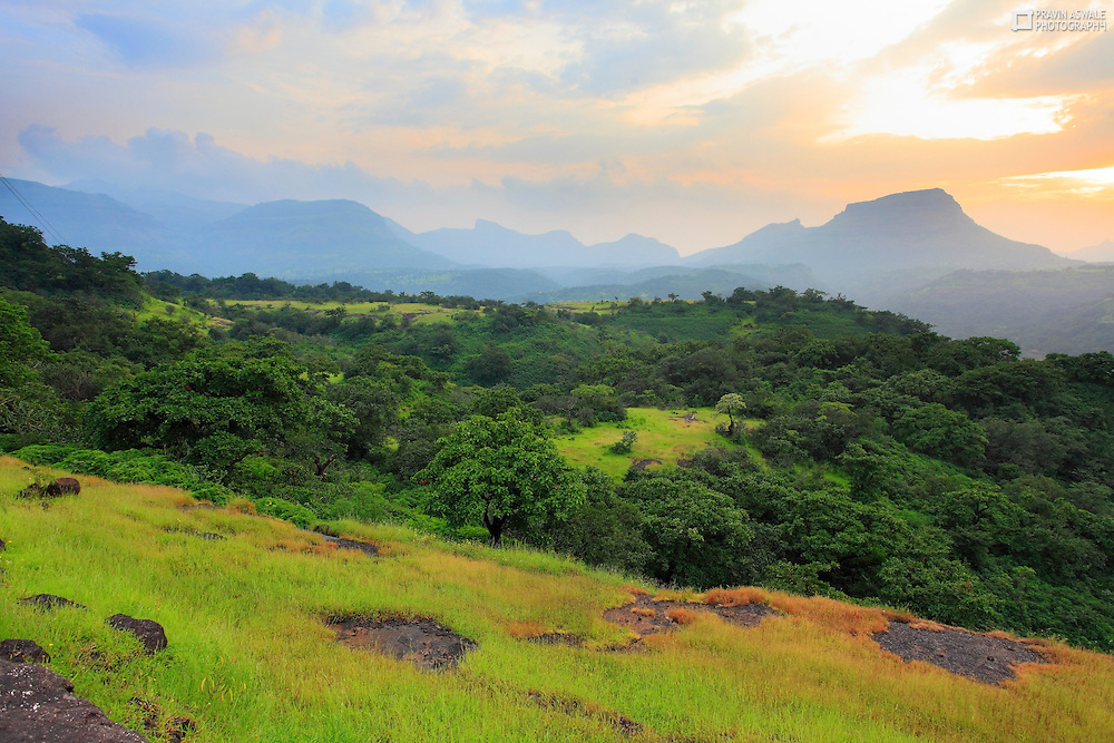 Serene Landscapes from Western Ghats India.