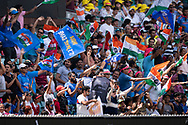 Indian fans at the 4th Cricket Test Match between Australia and India at The Sydney Cricket Ground in Sydney, Australia on 03 January 2019.