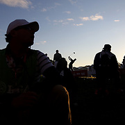 Ryder Cup 2016. Day Two. Rory McIlroy of Europe on the second tee during the Ryder Cup at the Hazeltine National Golf Club on October 01, 2016 in Chaska, Minnesota.  (Photo by Tim Clayton/Corbis via Getty Images)