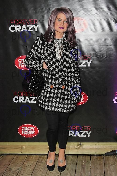 LONDON - SEPTEMBER 19: Kelly Osbourne attended the premiere of 'Crazy Horse Presents Forever Crazy' at The Crazy Horse, London, UK. September 19, 2012. (Photo by Richard Goldschmidt)
