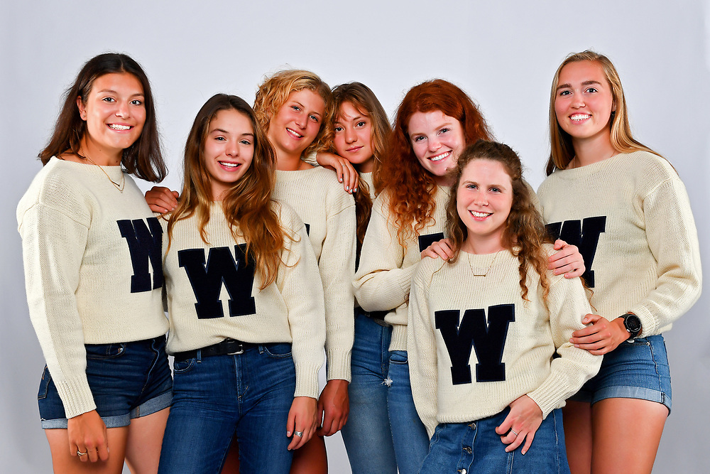 SEATTLE, WASHINGTON - JUNE 12: 2019 University of Washington Women's Rowing National Champions Senior Portraits at Conibear Shellhouse in Seattle, Washington. (Photo by Alika Jenner)