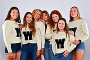 SEATTLE, WASHINGTON - JUNE 12: 2019 University of Washington Women's Rowing National Champions Senior Portraits at Conibear Shellhouse in Seattle, Washington. (Photo by Alika Jenner)
