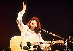 Rio de Janeiro, RJ,  Brasil      02/Junho/1991.A cantora Rita Lee em show no Riocentro. Singer Rita Lee concert at Riocentro..Foto Marcos Issa/Argosfoto