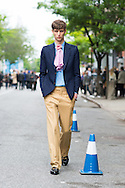 Gucci Men's Look, Outside the Resort Show 2016