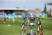 The Vanarama play off trophy during the Vanarama National League Play Off second leg match between Forest Green Rovers and Dagenham and Redbridge at the New Lawn, Forest Green, United Kingdom on 7 May 2017. Photo by Shane Healey.