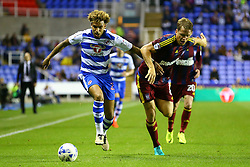 Daniel Williams of Reading under pressure from Christophe Berra of Ipswich Town - Mandatory by-line: Jason Brown/JMP - 09/09/2016 - FOOTBALL - Madejski Stadium - Reading, England - Reading v Ipswich Town - Sky Bet Championship