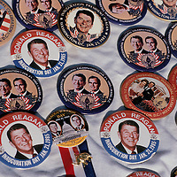 Commemorative souvenirs from the 1985 Presidential Inauguration for President Ronald Reagan