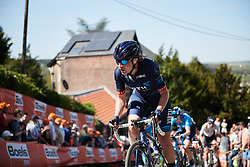 Doris Schweizer (SUI) on Mur de Huy at La Flèche Wallonne Femmes 2018, a 118.5 km road race starting and finishing in Huy on April 18, 2018. Photo by Sean Robinson/Velofocus.com