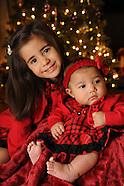 Olivia & Liliana 2010 Christmas Portrait
