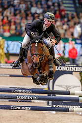 EHNING Marcus (GER), Comme il faut<br /> Leipzig - Partner Pferd 2020<br /> Longines FEI Jumping World Cup™ presented by Sparkasse<br /> Sparkassen Cup - Großer Preis von Leipzig FEI Jumping World Cup™ Wertungsprüfung <br /> Springprüfung mit Stechen, international<br /> Höhe: 1.55 m<br /> 19. Januar 2020<br /> © www.sportfotos-lafrentz.de/Stefan Lafrentz