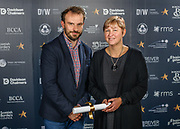 Scottish Border of Chamber Border Busines awards, 2017, held at Springwood Hall.<br /> <br /> 'Supporting Young Workforce Business of the Year' - Special Commendation  ~ Border Safeguard,  based in Selkirk. Sponsored by Developing Young Workforce.