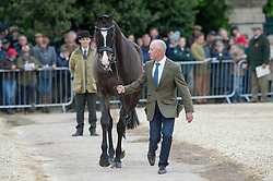 Hoy Andrew, (AUS), Lanfranco<br /> First Horse Inspection - Mitsubishi Motors Badminton Horse Trials <br /> Badminton 2015