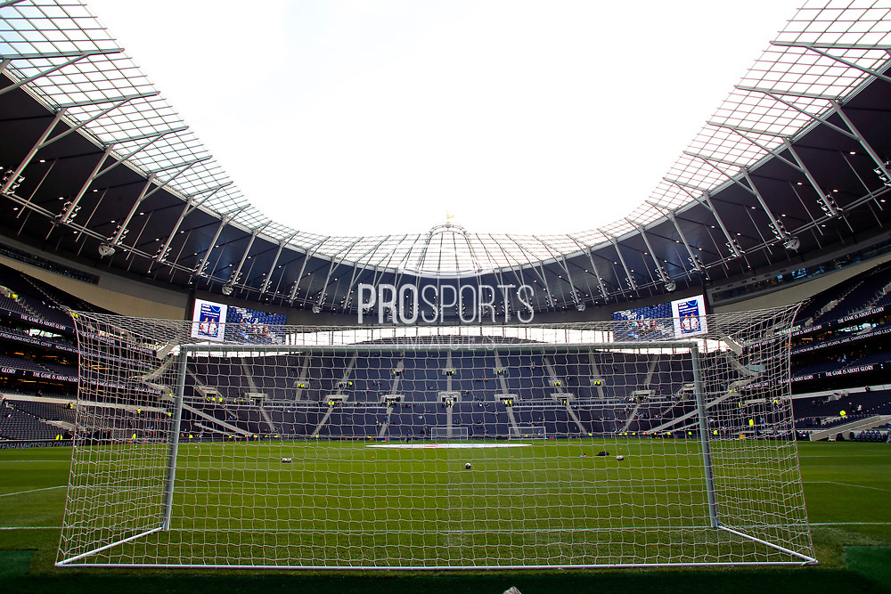 Tottenham Hotspur Stadium before the FA Women's Super League match between Tottenham Hotspur Women and Arsenal Women FC at Tottenham Hotspur Stadium, London, United Kingdom on 17 November 2019.