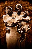 Zimsculpt at Van Dusen Botanical Garden: New Addition - springstone sculpture by Dickson Matorwa (original sculpture available at www.zimsculpt.com)