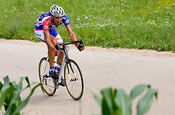 Blaz Jarc at Slovenian National Championships in Road cycling, 178 km, on June 28 2009, in Mirna Pec, Slovenia. (Photo by Vid Ponikvar / Sportida)