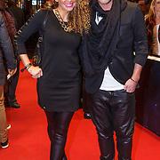 NLD/Amsterdam/20131017 - Premiere I Am Hardwell, Fajah Lourens en Wim Glas