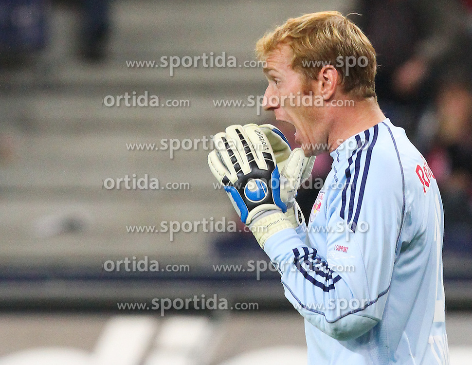 25.09.2010, Red Bull Arena, Salzburg, AUT, 1. FBL, FC Red Bull Salzburg vs SV Ried, im Bild Gerhard Tremmel, (FC Red Bull Salzburg, Keeper, #28), EXPA Pictures © 2010, PhotoCredit: EXPA/ D. Scharinger / SPORTIDA PHOTO AGENCY