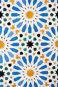 Tiles in Alcazar palace in Sevilla (Spain)