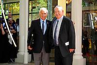 Just FONTAINE / Michel HIDALGO  - 17.05.2015 - Ceremonie des Trophees UNFP 2015<br /> Photo : Nolwenn Le Gouic / Icon Sport