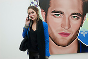JEMIMA JONES, Richard Phillips, Most Wanted. Private view at White Cube. Hoxton Sq. London. 27 January 2011, -DO NOT ARCHIVE-© Copyright Photograph by Dafydd Jones. 248 Clapham Rd. London SW9 0PZ. Tel 0207 820 0771. www.dafjones.com.