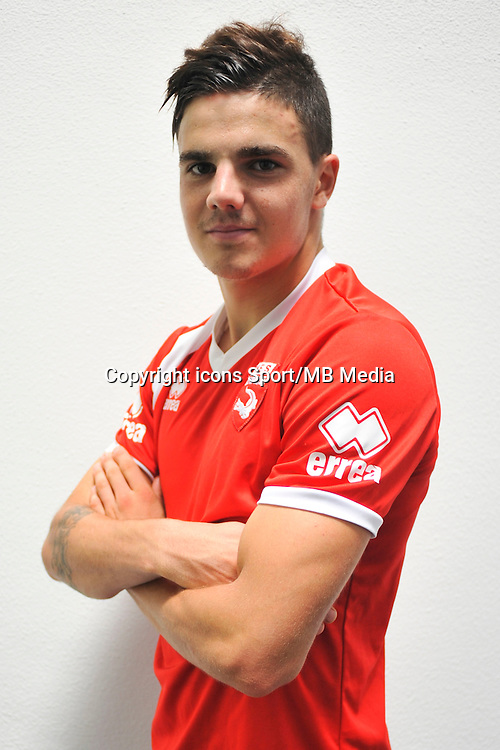 Anthony BRIANCON - 16.09.2014 - Photo officielle Nimes - Ligue 2 2014/2015<br /> Photo : Icon Sport