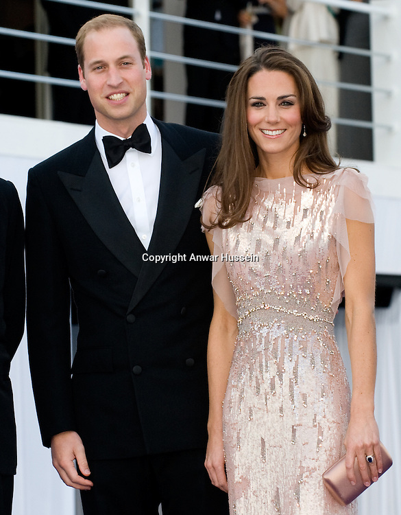 Prince William, Duke of Cambridge and Catherine, Duchess of Cambridge attend the 10th Annual ARK (Absolute Return for Kids) Gala Dinner at Kensington Palace on June 9, 2011 in London, England.  It is the Duke and Duchess's first official public engagement since their wedding.