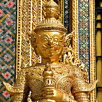 Phra Mondrop Library Guard at Grand Palace in Bangkok, Thailand<br />