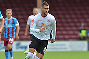 Marcus Haber  during the Sky Bet League 1 match between Scunthorpe United and Crewe Alexandra at Glanford Park, Scunthorpe, England on 15 August 2015. Photo by Ian Lyall.