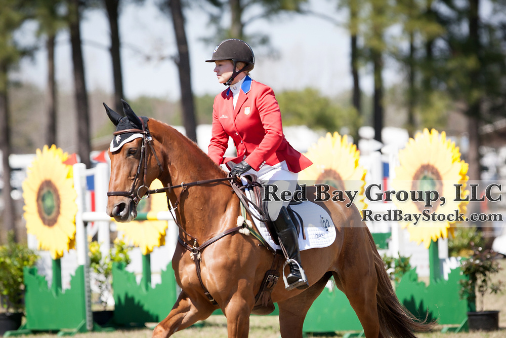 Marilyn Little (USA) and RF Demeter at the Carolina International in Raeford, North Carolina.