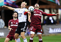 Fotball , 27. januar 2011, Copa del Sol , Rosenborg - Rapid Bucuresti<br /> <br /> Mikael Dorsin , RBK<br /> Marius Constantin , RB