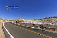 Road bicycling in Death Valley National Park, California, USA
