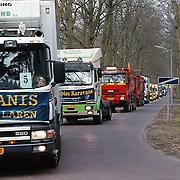 Gehandicapten vrachtwagen rit Nieuweroord