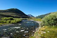 Wildhorse Creek East of Sun Valley, Idaho