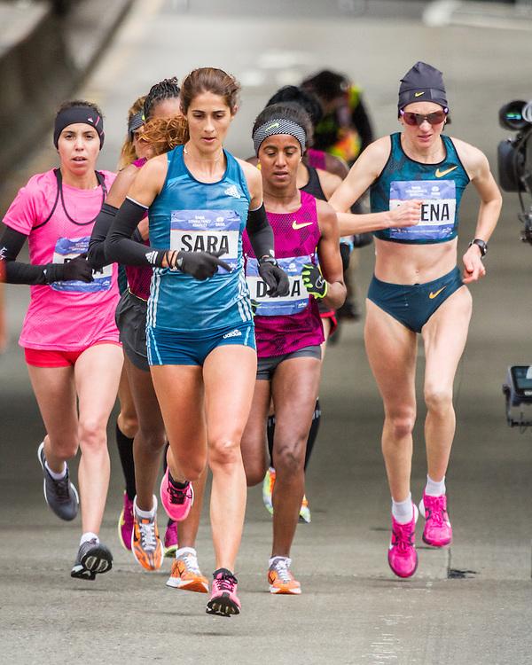 NYC Marathon, Moreira leads mile 15