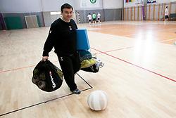 Herman Wirth during practice session of Slovenian Handball Men National Team, on January 11, 2011, in Zrece, Slovenia. (Photo by Vid Ponikvar / Sportida)