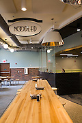 Noodled is one of the new food stations that students have at the newly finished Boyd Dinning Hall.