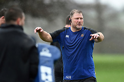 Assistant Coach Neal Hatley - Mandatory byline: Patrick Khachfe/JMP - 07966 386802 - 16/01/2020 - RUGBY UNION - Farleigh House - Bath, England - Bath Rugby Training Session