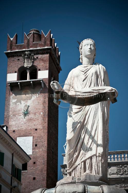 Statue of Madonna Verona, Italy