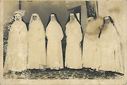 """""""My favorite Aunty Nita, became a Good Shepherd Nun. She is second from right) and yes, her face cannnot be seen"""" - Charmaine  She was Nita de Hoedt, and as a Nun, she was Sister Elizabeth."""