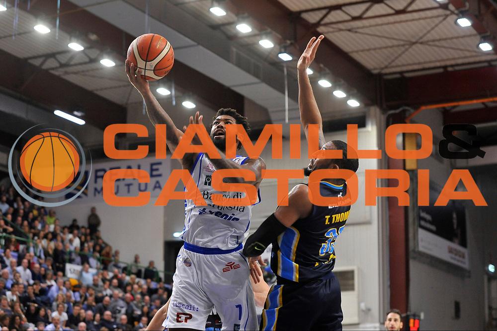 Travor Lacey<br /> Banco di Sardegna Dinamo Sassari - Vanoli Cremona<br /> LegaBasket Serie A LBA Poste Mobile 2016/2017<br /> Sassari 26/11/2016<br /> Foto Ciamillo-Castoria