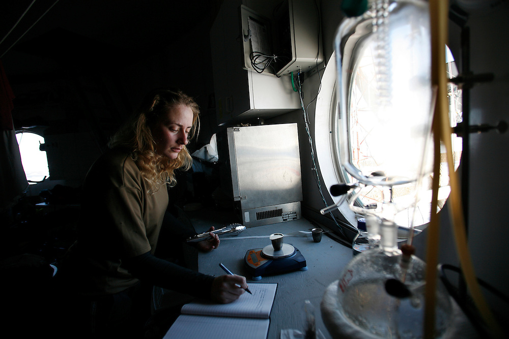 Kathryn Bywaters  (27) working in the lab on The FMARS (Flashline Mars Arctic Research Station)in Devon Island . On Saturday, June, 8, 2007....Mars flashline Mars arctic (FMARS)....On Devon Island in the high Canadian Arctic a group of sciences from the USA & Canada is gathering for four month to search watt human being can do on mars planet...The four month mission will be the first time that a simulated Mars mission has ever been conducted for such a long duration...The crow of volunteers includes some biologist geologist and other nether scientist researches.....They chose Devon Island in Canada because it simulated the acclaim on the planet Mars, for getting the filling of being on Mars and to challenge the research and to make it close as they can to the conditions on the planet they wear spies suit and live isolated in the laboratory for four month...The man person that ran the project is Dr Robert Zabrin that believe that this project can lied to find ways to search for life on Mars and maybe to fined a way that human being will be able to live on the planet.....This project is privet projects that cooperate with several universities around the world.....