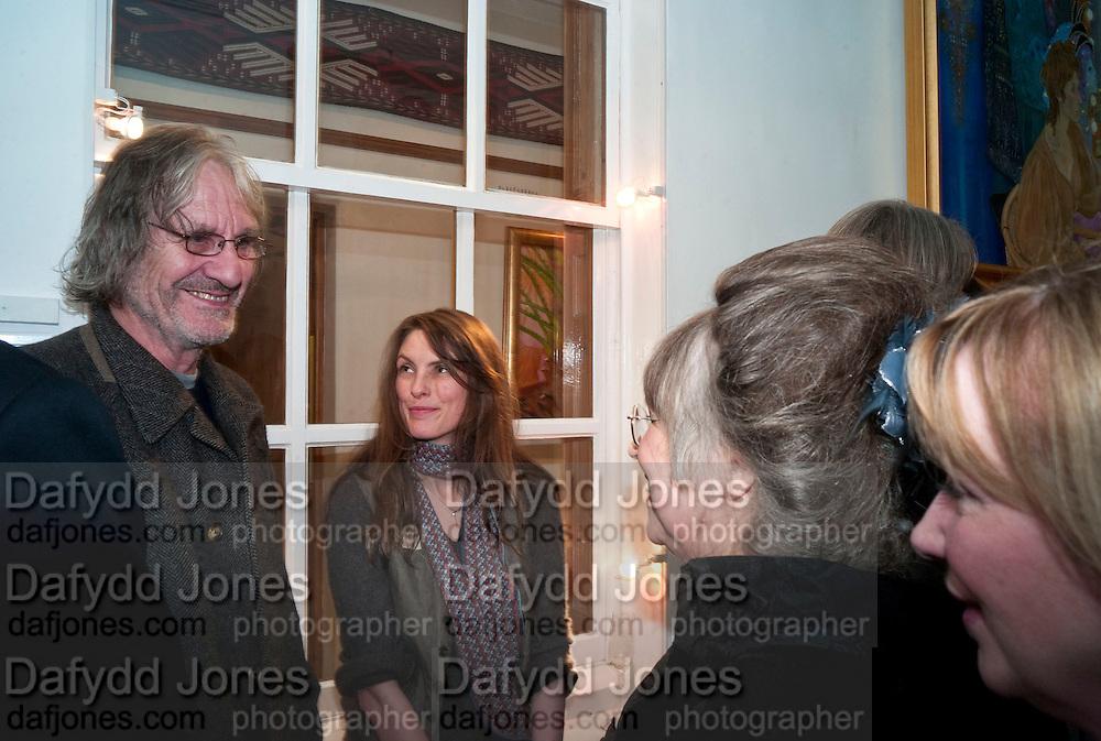 ANDREW BIRKIN; KAREN BIRKIN; CHRISTIANE KUBRICK, Stanley Kubrick's Napoleon. The Greatet Movie Never Made. Book launch.  Published by Taschen. Launch held at Kubrick's family home Childwickbury House. Harpenden. 8 December 2009