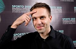 Dragan Perendija during Day two of Sporto  2010 - Sports marketing and sponsorship conference, on November 30, 2010 in Hotel Slovenija, Portoroz/Portorose, Slovenia. (Photo By Vid Ponikvar / Sportida.com)