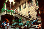 SPAIN, BARCELONA Picasso Museum in Gothic Barrio