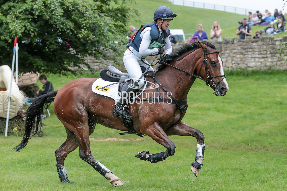 ONE TWO MANY ridden by Nicola Wilson at Bramham International Horse Trials 2016 at  at Bramham Park, Bramham, United Kingdom on 11 June 2016. Photo by Mark P Doherty.