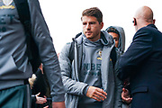 Leeds United defender Gaetano Berardi (28) arrives at the ground during the EFL Sky Bet Championship match between Leeds United and Queens Park Rangers at Elland Road, Leeds, England on 2 November 2019.