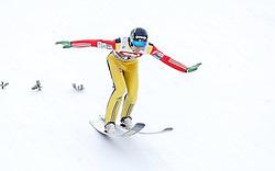 03.01.2015, Bergisel Schanze, Innsbruck, AUT, FIS Ski Sprung Weltcup, 63. Vierschanzentournee, Training, im Bild Nejc Dezman (SLO) // Nejc Dezman of Slovenia in action during Trial Jump of 63 rd Four Hills Tournament of FIS Ski Jumping World Cup at the Bergisel Schanze, Innsbruck, Austria on 2015/01/03. EXPA Pictures © 2015, PhotoCredit: EXPA/ Peter Rinderer